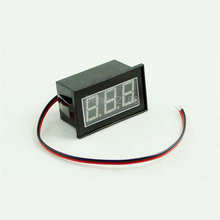 Waterproof Digital DC Voltmeter Voltage Volt panel meter DC 6-130V 12V 24V 36V 48V 60V 72V 84V 96V 0.56 inch