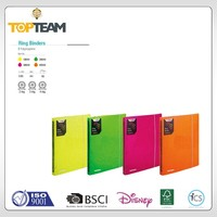 TOPTEAM NEW NEON SERIES Wholesale 1 Inch 4 Ring Binders 3 ring binder