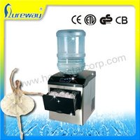 15kgs Stainless Steel Small Ice Makers /water dispenser ice maker with CE GS UL ETL