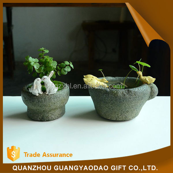 Event & Party Supplies resin craft of decorations ideas animal resin craft plant pot garden decoration