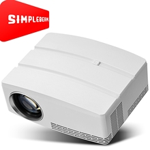 OEM New design 2018 Pocket LED Mini Projector Simplebeam GP80UP,1800LMS for Video entertainment