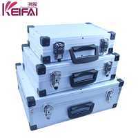 Factory Customised Portable Shockproof Small Tool Boxes Aluminum