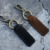 Factory wholesale  Vintage Key chain Genuine leather key chain metal key chain custom
