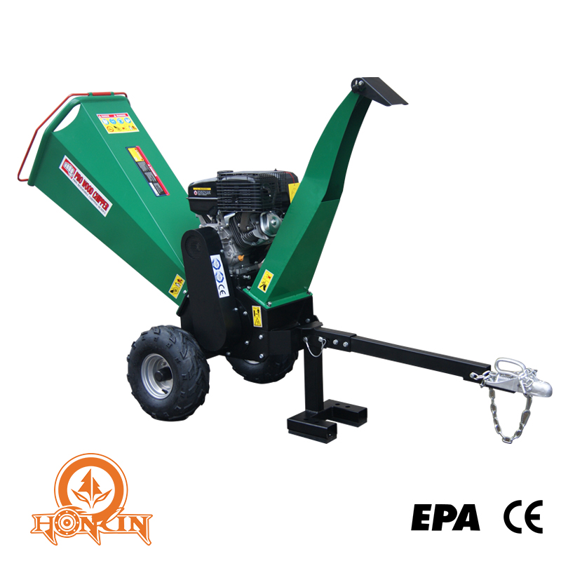 13hp diesel garden wood chipper shredder for sale