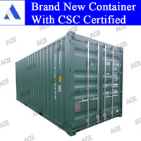 new 20ft 40ft sea shipping containers with CSC plate
