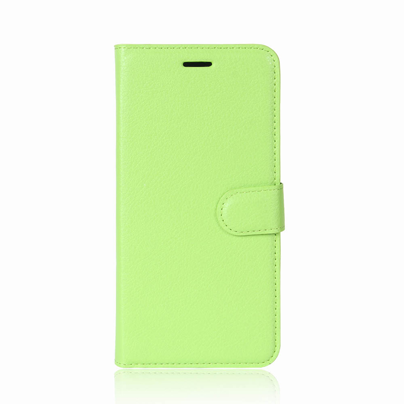Wholesale In Stock Litchi Pattern Card Slots Magnetic PU Leather Wallet Case Cell Phone Case For iPhone X