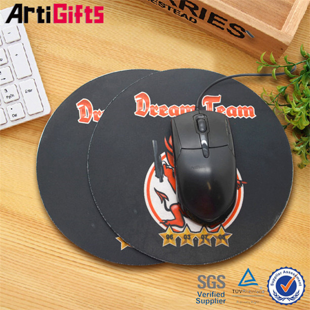 new product custom rubber computer mouse pads