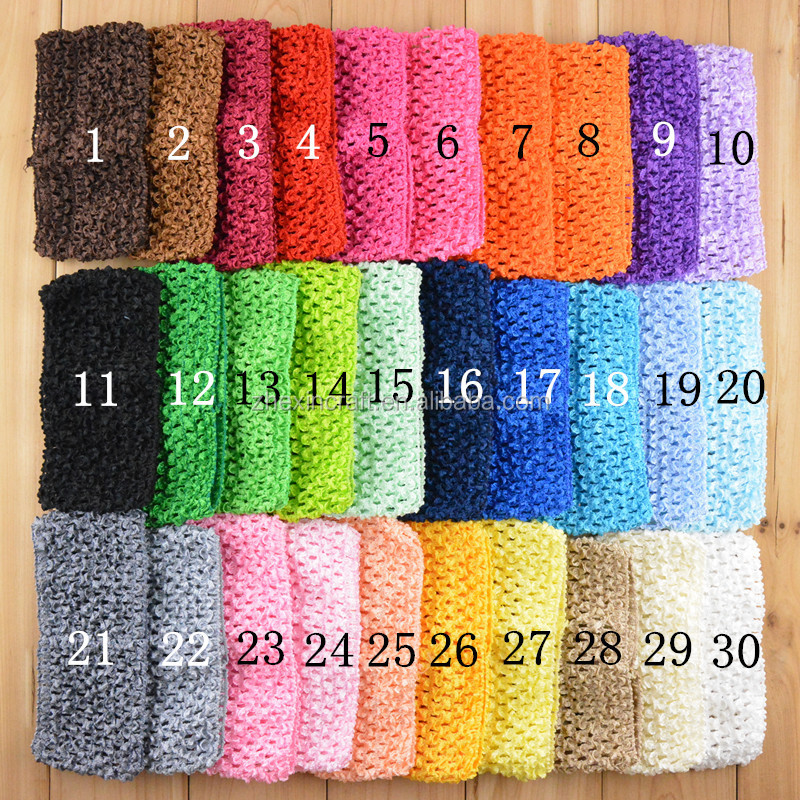 2016 cute New Baby Girl Elastic Rayon Waffle Headbands Crochet Tutu Tube Tops Chest Wrap