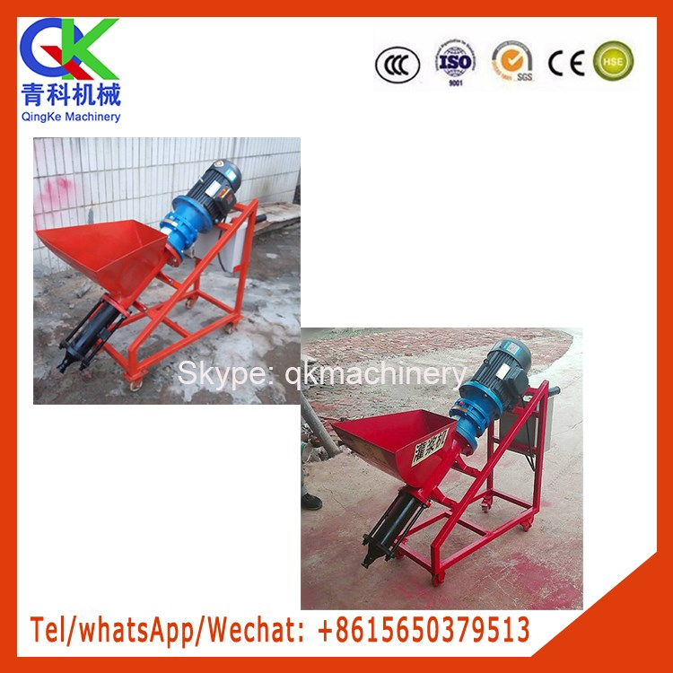 railway tunnel thermal insulation mortar crack sealing machine