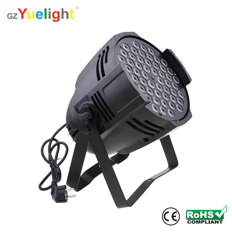 180W 54x3w rgbw dmx stage led par lighting with ce rohs