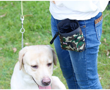Camuflage Design Pet Treat Tote Outdoor Dog Treat Pouch for training