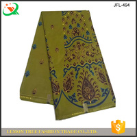 Veritable super wax fabric for paty dress making