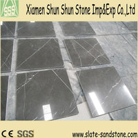 Moderate price Polished Chocolate Brown marble flooring tiles