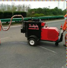 highway large cracks repair cement pavement crack patching equipment asphalt crack filler