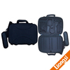 Universal Travel hard briefcase for Electronics and Accessories with one shoulder strap