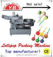 Automatic Spherical Lollipop Twist Packing Machine YB-120