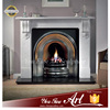 Europe Christmas Marble Simple Fireplace
