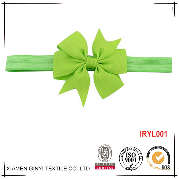 Hot sale boutuque ribbon bow sweet baby wholesale hair accessories