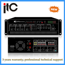 Stereo KARAOKE professional dsp power amplifier with 2X120w