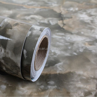 Self Adhesive PVC Vinyl Marbled Paper Decorative Films For Furniture, Cabinet And Door