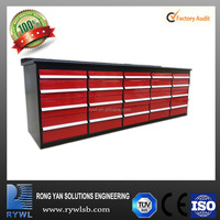 NEW 20 drawers Large Garage Shed Storage Workbench Tool Chest Box Work Bench cabinet