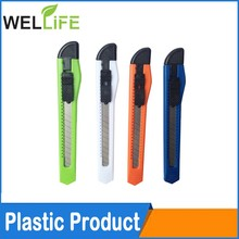 Hot knife cutter easy cut durable utility knife steel blade quality heavy duty plastic for window 9mm knife