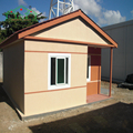 Top sale flat roof prefab modular house designs for kenya