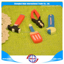Multicolor fashion design animal shape eraser