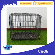 Lead Content Free Srainless Steel Metal Dog Cage
