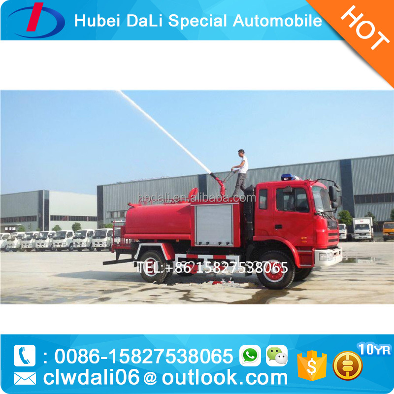 Good quality JAC fire fighting truck,3000 liter fire truck manufacturers europe