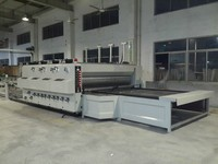 ESTARPACK Flexo Printer Slotter Die Cutter Semi Automatic Corrugated Box Making Machine