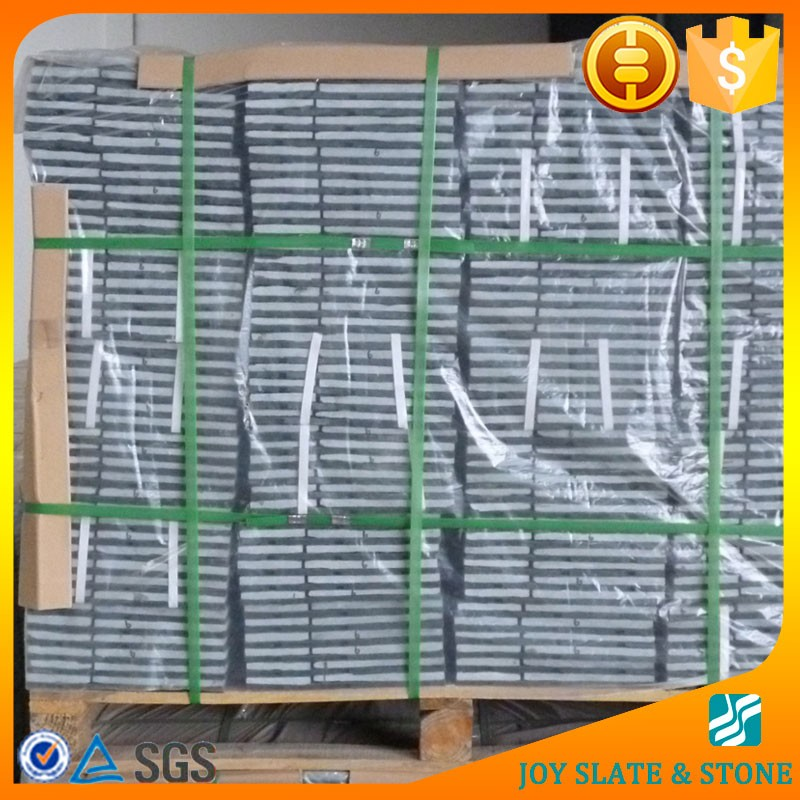 China factory slate interlocking removable floor tiles