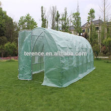Cheap price grow smart farm hobby green house china polycarbonate greenhouse
