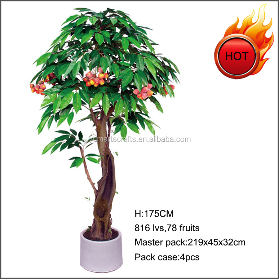 Hot sale artificial lichee tree