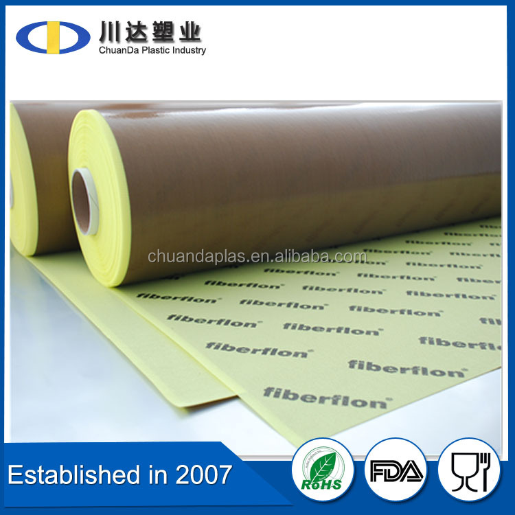 2016 Factory Best Selling Products PTFE Coated Fiberglass Adhesive Fabric/Teflon Glass Adhesive