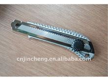 Aluminum alloy Utility Cutter Knife with 18mm blade