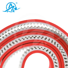 Double Sided Jointed End PU Timing Belt T Type
