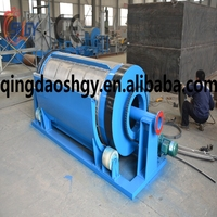High efficience Micro drum Filter machine , Rotary Drum Filter for fish farm, aquaculture drum filter
