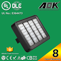 8 Years Warranty UL DLC CE IP67 Approval Warm Color 160W LED Tunnel