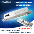 Narrow Frame Aluminum Electronic Access Control System With Door Status Sensors