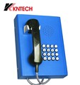 Voip /Analoge Public phone NO.1 Supplier KNTECH KNZD27 Emergency PHONE dustproof bank telephones Vandalproof Telephone