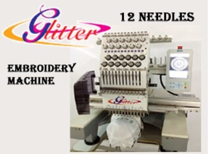 1 embroidery machine