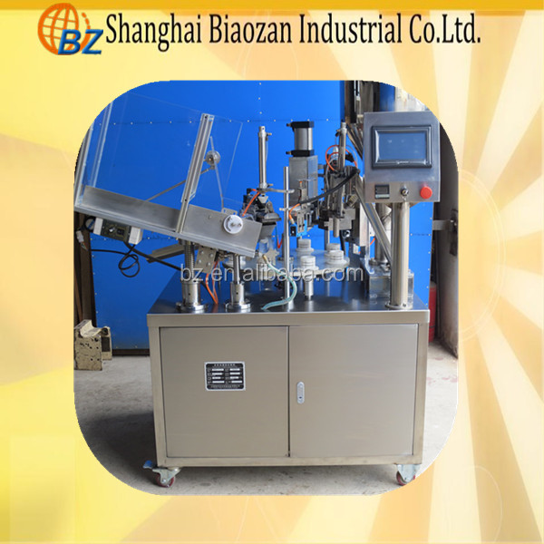 Automatic Mouthwash Soft Tube Filling and Sealing Machine, Food Packing Machine
