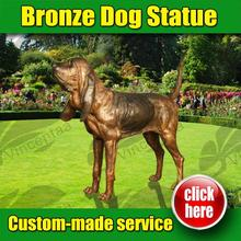 2016 New Design zen dog garden sculpture 30 Years Foundry