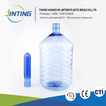 China manufacturers pressure port disposable plastic water bottle raw materials for PET preforms