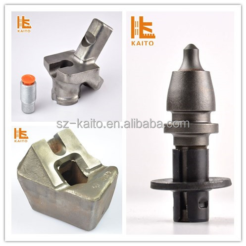 Road construction W1-13R Cement Cutting tools for milling machine