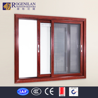 ROGENILAN with electric window shutters aluminum sliding window parts