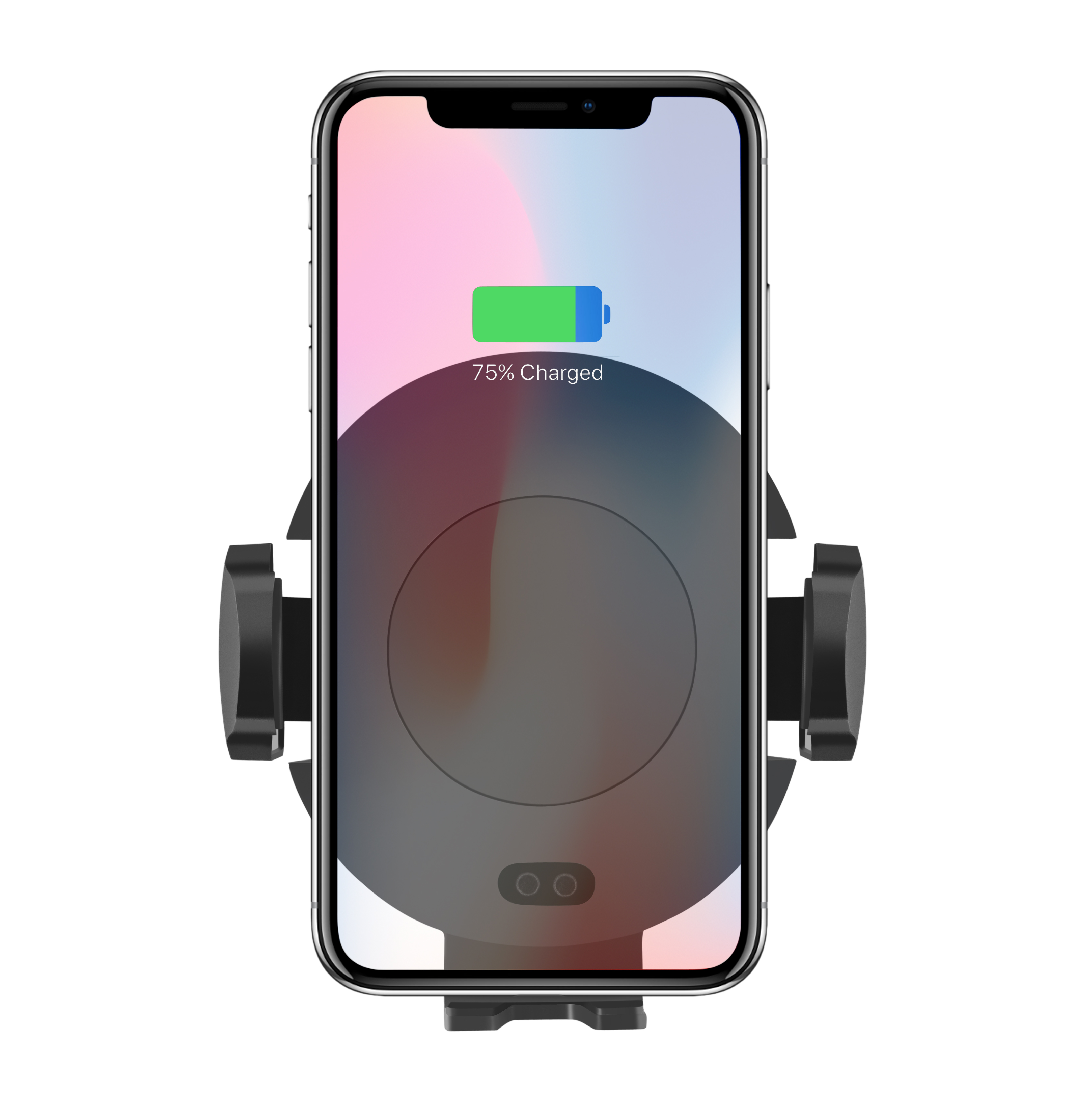 Car Mount Fast QI Wireless Charger With Infrared Sensor Car Air Vent Phone Holder for iPhone XS/ 8 Plus/ X Samsung S9 S8 S7 - ANKUX Tech Co., Ltd