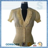 prompt reply famously cutwork blouse