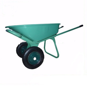 High quality gold supplier china two wheels heavy Dduty industrial construction wheelbarrow